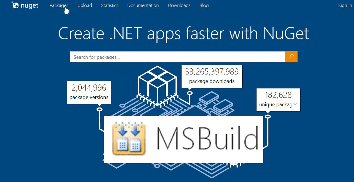Generate nupkg using msbuild cover image